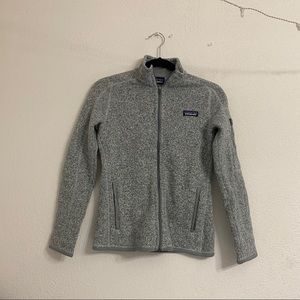 Patagonia Better Sweater Fleece Jacket Birch White